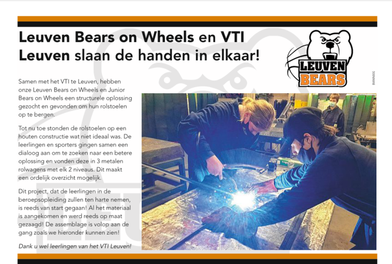 Leuven Bears On Wheels